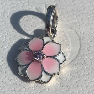 Pandora Magnolia Bloom Dangle Charm